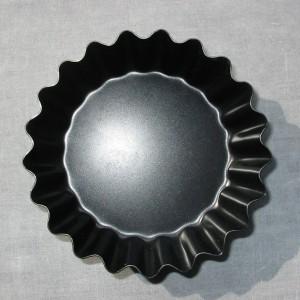 Gegroefde taartvormpjes 9 cm