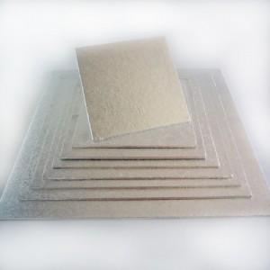 Cake board vierkant 25 cm